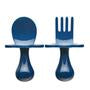 Navy Utensils by Grabease