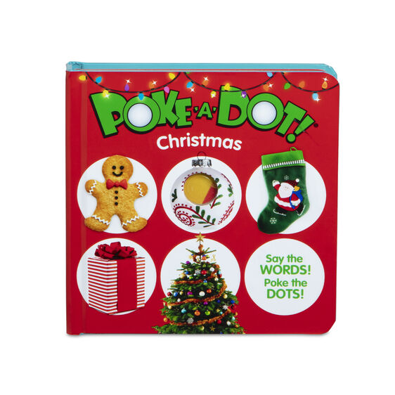 Poke-A-Dot Christmas Book by Melissa & Doug