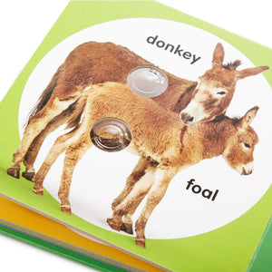 Poke-A-Dot Farm Animal Families Book by Melissa & Doug