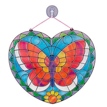 Load image into Gallery viewer, Stained Glass Butterfly by Melissa & Doug