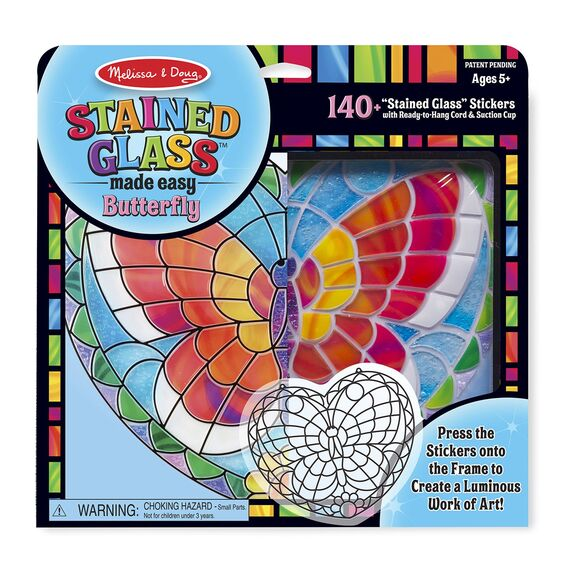 Stained Glass Butterfly by Melissa & Doug