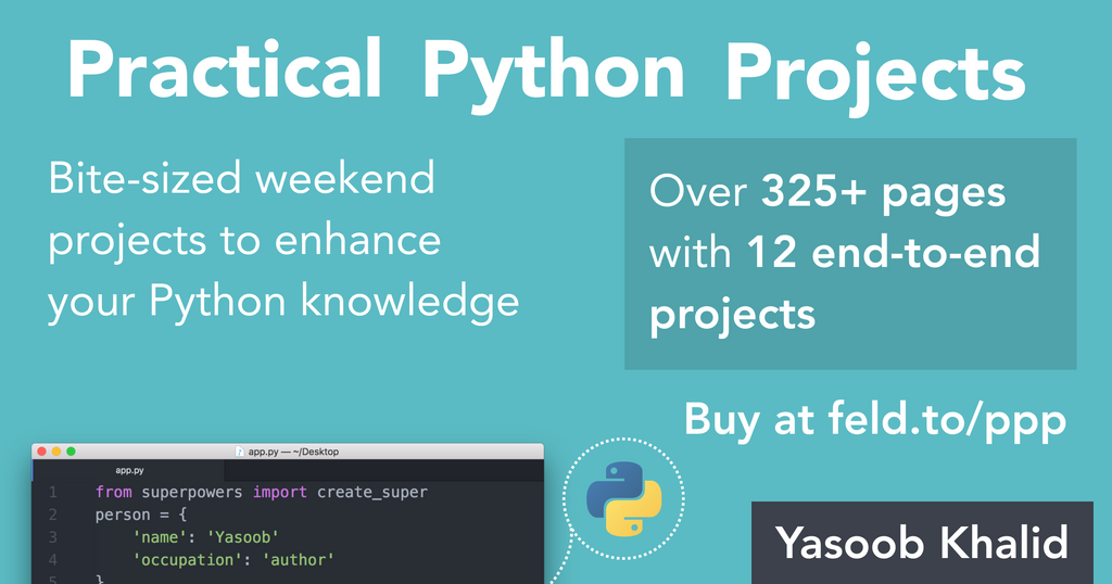 We've released a new Python book!