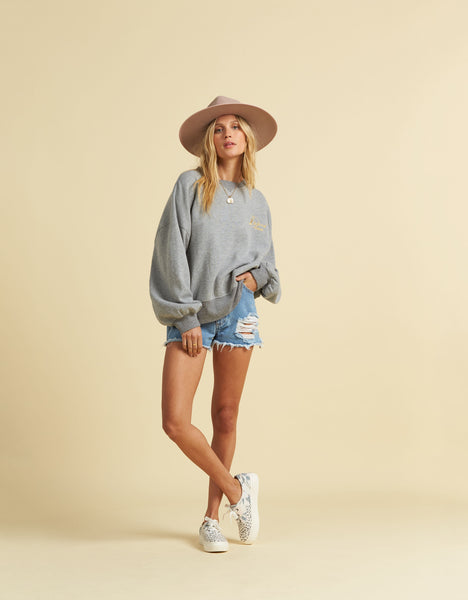 Salty Blonde Vacation Mode Sweater