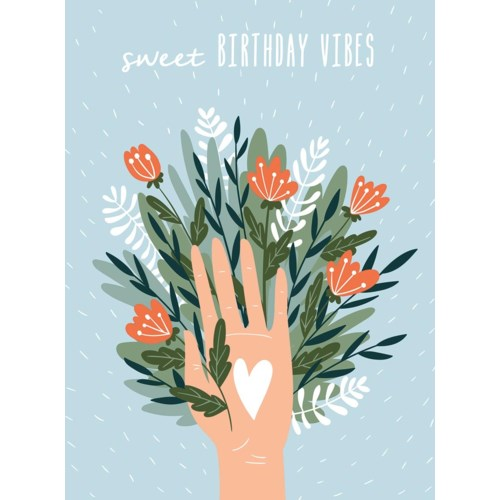 Sweet Vibes Card