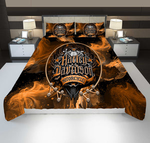 H-D Motor PREMIUM Bedding Set - LIMITED V1