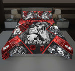 Skull Couple. You And Me We Got This - PREMIUM Bedding Set - LIMITED V1 CP1
