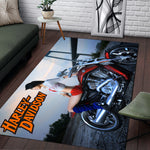 H-D Motorcycle Area RUG - LIMITED V4