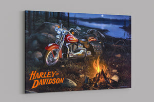 H-D Motorcycle PREMIUM CANVAS - LIMITED V2