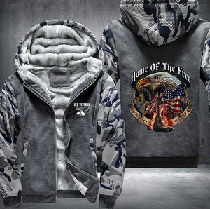 US Veteran Armed Forces Fleece Jacket - LIMITED EDITION ML-503