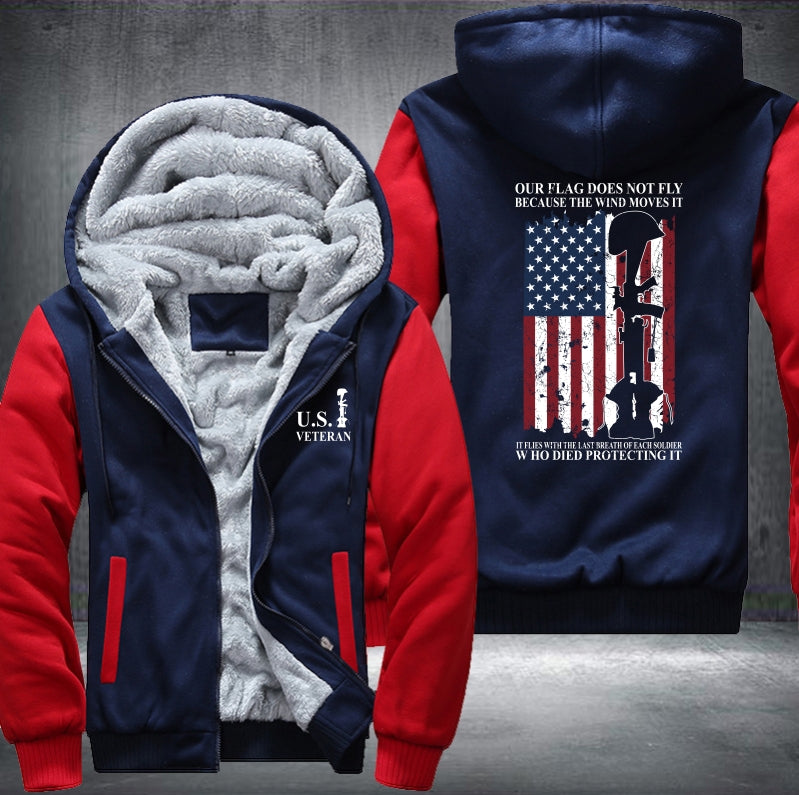 US Veteran Armed Forces Fleece Jacket - LIMITED EDITION ML-513