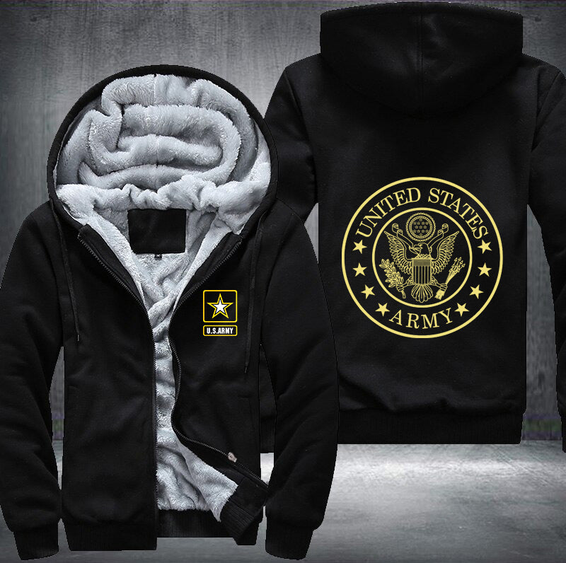 US Army Fleece Jacket - LIMITED EDITION ML3