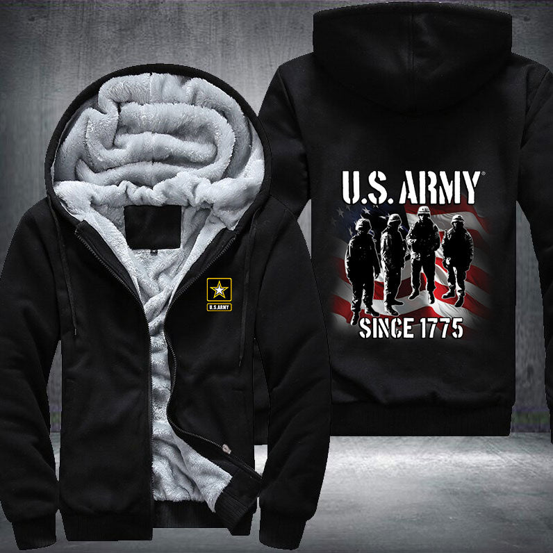 US Army Veteran Fleece Jacket - LIMITED EDITION ML-AM7
