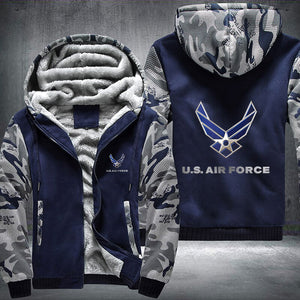 US Air Force Fleece Jacket - LIMITED EDITION ML-AF1