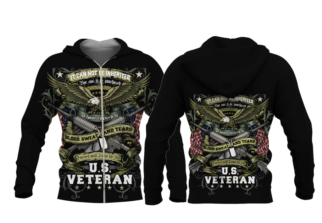 """I Own The Title VETERAN"" Premium Jacket - LIMITED EDITION -VML1"