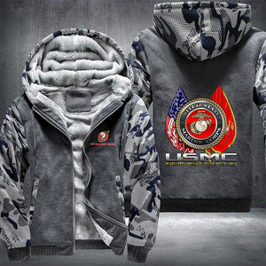 US Marines Fleece Jacket - LIMITED EDITION ML-MC1