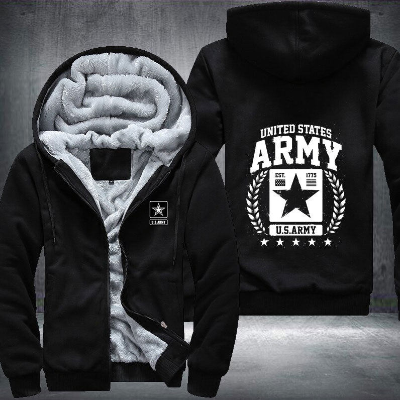 Army Veteran Fleece Jacket - LIMITED EDITION ML-AM8