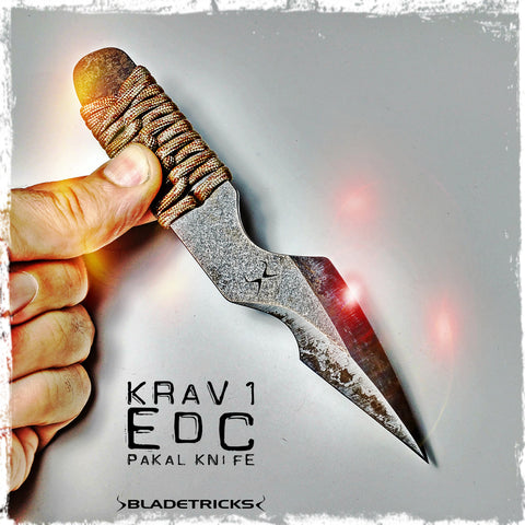 Krav 1 EDC Pakal combat knife by Bladetricks