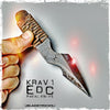 BLADETRICKS KRAV 1 PAKAL KNIFE, CORD WRAPPED
