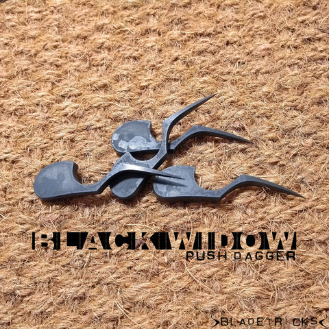 BLADETRICKS CUSTOM BLACK WIDOW PUSH DAGGER