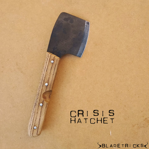 BLADETRICKS CRISIS HATCHET, ASH WOOD VERSION