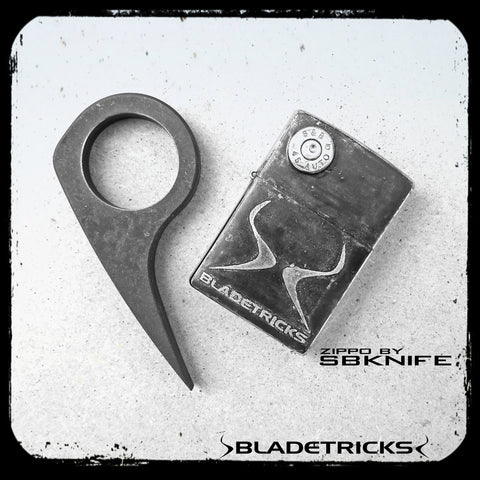 BLADETRICKS MICRO TUSK ICE PRY KARAMBIT, 8 MM 4340 STEEL VERSION