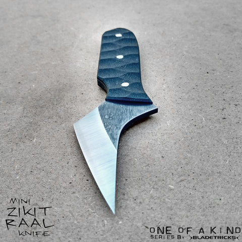 Bladetricks custom Mini Zikit Raal fighting EDC knife