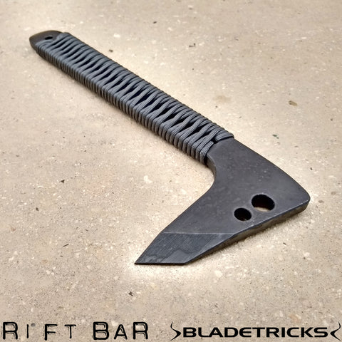 Tactical Pry bar RIFT by knife maker Bladetricks