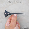 BLADETRICKS CUSTOM XL STOP SWITCH PUSH DAGGER, BLACK G10 & COPPER