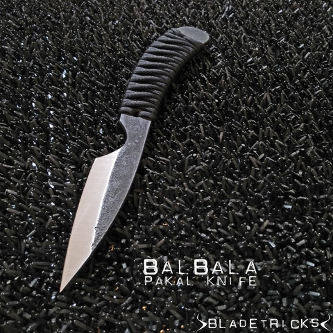 Pakal pkal reverse grip tactical knife Balbala by bladetricks