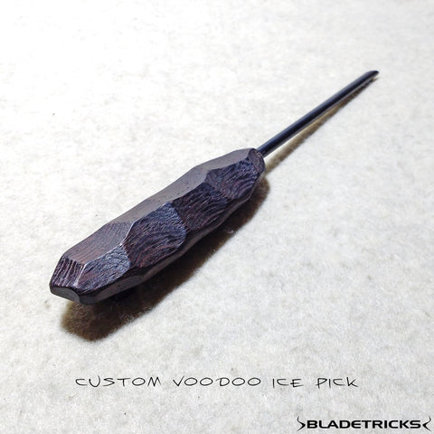 Bladetricks one of a kind wengue medium Voodoo ice pick