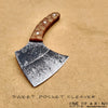 BLADETRICKS CUSTOM SWEET POCKET CLEAVER, MICARTA VERSION