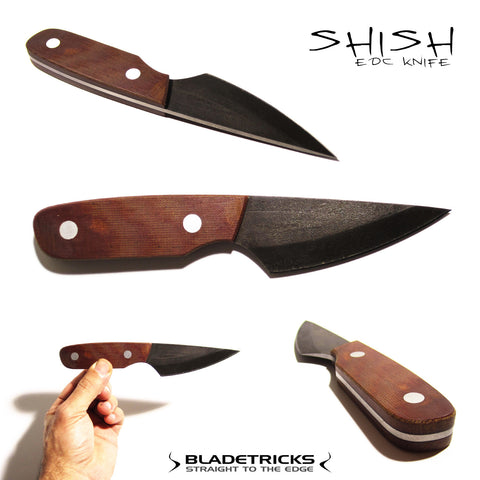 Shish custom edc tactical knife best knife maker Bladetricks