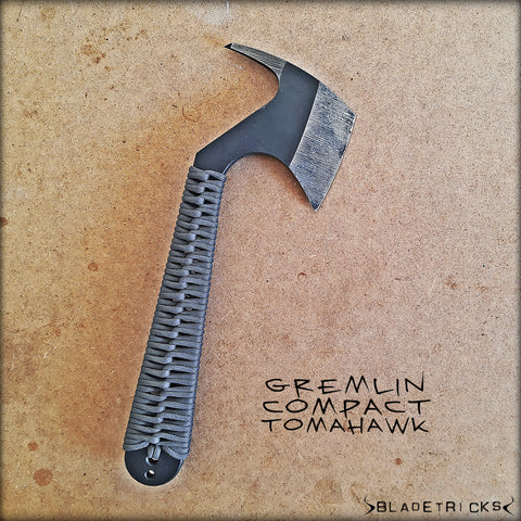 BLADETRICKS GREMLIN COMPACT TOMAHAWK, CORD WRAPPED