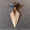 BLADETRICKS CUSTOM DIYUK STOP SWITCH PUSH DAGGER, BLACK G10 & COPPER
