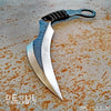 BLADETRICKS CUSTOM DEOUL KARAMBIT, CORD WRAPPED VERSION