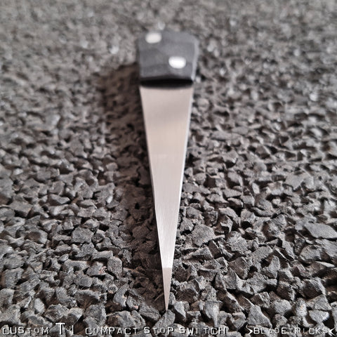 BLADETRICKS CUSTOM TITANIUM COMPACT STOP SWITCH