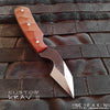 BLADETRICKS CUSTOM KRAV II PAKAL KNIFE, MICARTA VERSION