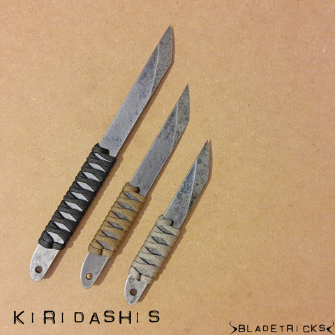BLADETRICKS CUSTOM CORD WRAPPED KIRIDASHI
