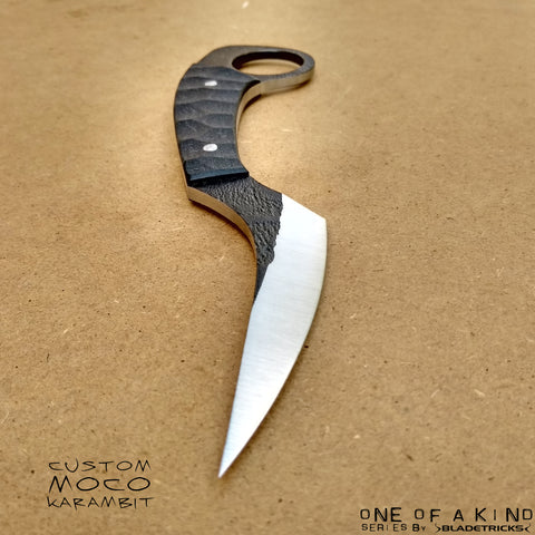 BLADETRICKS CUSTOM MOCO KARAMBIT, G10 SCALES VERSION