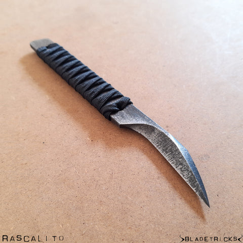 BLADETRICKS RASCALITO KNIFE, CORD WRAPPED