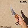 BLADETRICKS F1K KARAMBIT PERSIAN FIGHTER, ONE OF A KIND MICARTA VERSION