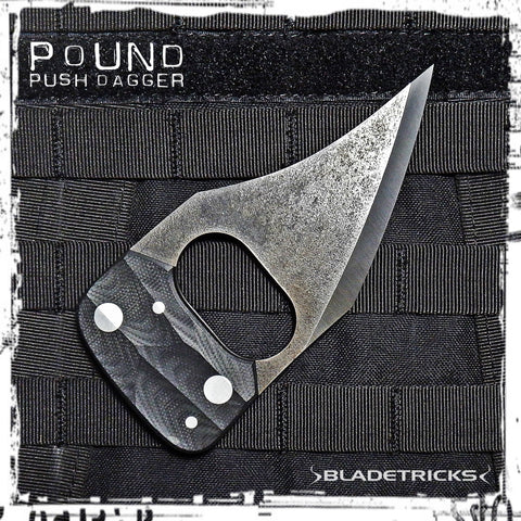 Amazing custom Push Dagger by Bladetricks knifemaker
