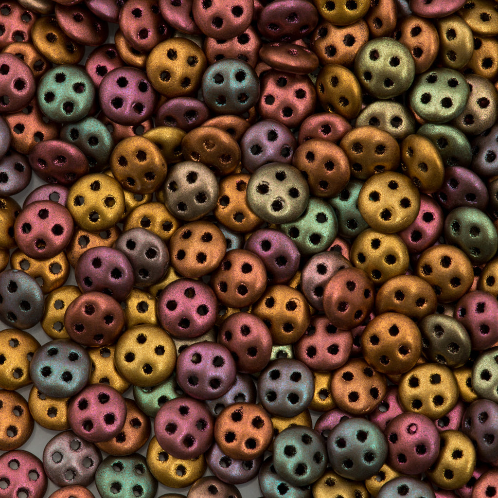 CzechMate QuadraLentil Beads
