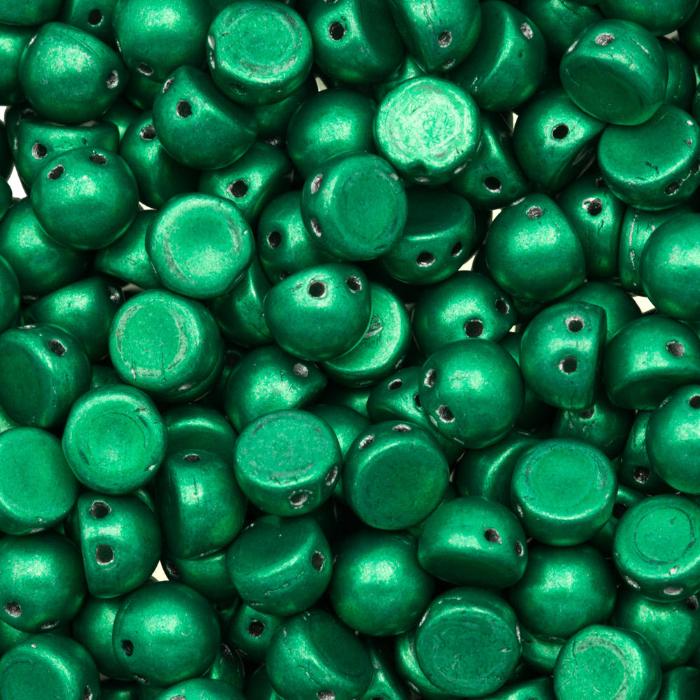 CzechMates Two Hole Cabochon Beads