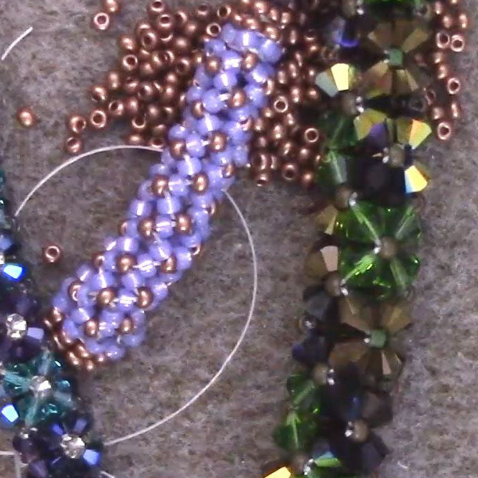 Chenille Stitch Beading Tutorial