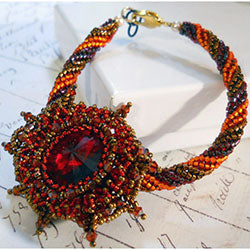 Autumn Bloom Bracelet Video Tutorial