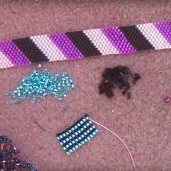 Even Count Peyote beading stitch tutorial