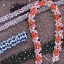 Intro to Beaded Openwork Netted Rope Stitch