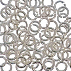 100pc 20ga. Jump Ring 4mm Sterling Silver I.D. 2.5mm