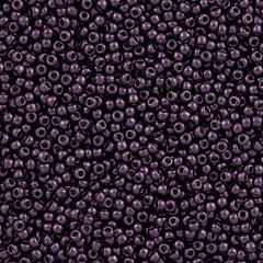 Toho Round Seed Beads 11/0 Higher Metallic Violet 15g (607)